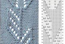 graficos de puntos para tejer