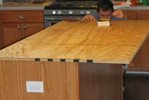 installing counter tops