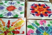 Mandala's tekenen met kinderen / Iedereen kan het leren; mandala tekenen. Ook kinderen. En wat is er nu leuker dan samen met je kind prachtige kunst te maken?!
