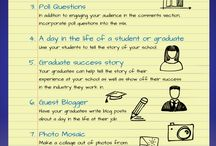 EduTech - Blog / Here are some idea's to help you with writing your blog.