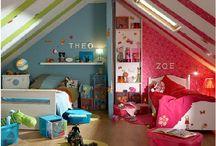 Dormitorio niño y niña