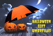 Halloween Gift Umbrellas / Your recipients will love to use these Halloween themed umbrellas for costume parties, haunted house themed events and more.