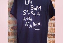 Um bom samba / camiseta algodão flame www.usebaalbek.com.br
