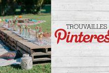 Trouvailles Pinterest: Garden Party
