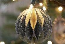 Weihnachtskugeln basteln