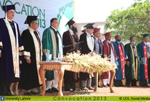 UoL Convocation 2013 / The 3rd Convocation of The University of Lahore (UoL) carried out on Tuesday, 26th of March 2013 at Defence Road Campus, Lahore. The Patron of the University Mr. M.A Rauf, Chairman Mr. Awais Raoof and Vice Chancellor Mr. M.H Qazi were the chief guest on the occasion. On Convocation, students were awarded degrees in various disciplines and Programs, while gold medals were also awarded to position holders.
