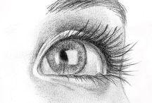 ojos resaltados