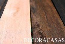 Envelhecendo madeira