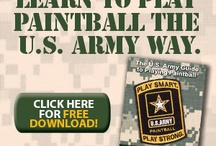 U.S. Army way to play paintball / Free Download on How to Play Paintball the U.S Army way.  http://paintball.tippmann.com/download-us-army-way-of-playing-paintball / by Tippmann Sports