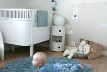 Babyzimmer und Deko