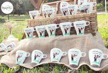 Detalles originales para tu boda / Las artisTazas dejarán sorprendidos a los invitados de tu boda: son tazas de desayuno pintadas a mano y 100% personalizadas pintadas a mano con extra de amor.