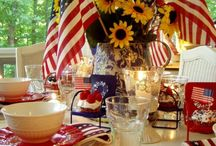 table decorating ideas / by Judy Taylor