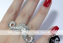 Anéis da Rita - Rita´s Rings / Oi eu sou a Rita, gennntem tem um anel mais lindo do que o outro. E o preço? M A R A V I L HO SO ! Clque e aproveite ; ) Bjs da Rita