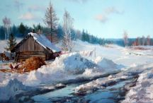 Winter Paintings Gallery