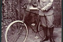 BICYCLE - Vintage / Photos of vintage bikes and riders / by R.Bruce Germond
