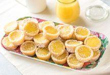 Lemon bar cookie