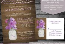 Save the Date/Invitations / by Katy Massey