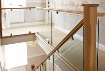 glass banisters