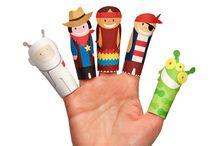 Bonecas e fantoches / artesanatos