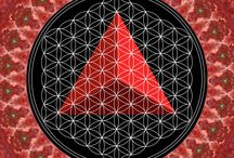 Platonic Solids / All 5 Platonic Solids can be formed from the blossomed Flower of life. In it, you will find Metatron's Cube, the Tree of Life, and if you seek deep enough, yourself...