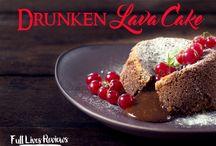 Boozy Desserts / Decadent desserts with a twist.