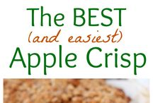 Apple recipes / Apple crisp