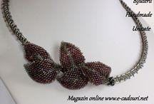 Minina handmade jewellery / http://e-cadouri.net/product-category/bijuterii-handmade/bijuterii/