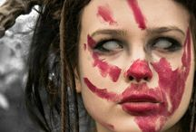 red war paint