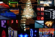 Tissu lumineux effets 3D / Présentations visuelles, supports de communication et décoration lumineuse.Voici un nouveau concept lumineux haut de gamme capable de conférer une perspective améliorée des plafonds et des murs, modifiant la perception des volumes.