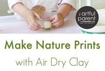 Nature Inspired Crafts / Crafts and activities inspired by or using nature - ideas for forest schools.