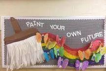 Bulletin Board Ideas / by Kaylee's Education Studio
