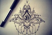 tatoo lotus mandala
