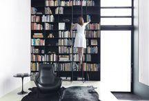 Library, Bookshelves & Reading Nooks