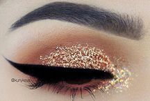 Peach/Gold Eye make-up ✨