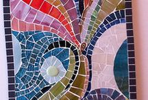 ZAGMOS mosaic art, glass art, tiffany, lead came works / Some of my recent mosaic works. More pictures @ http://www.zagmos.fi