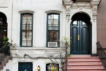 Houses-urban exteriors / by Amy Schenkenberger