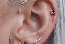 Piercings/sieraden