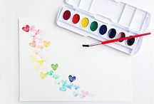 Watercolor Love / by Melissa Bickford