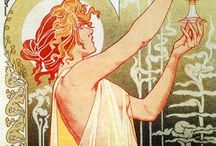 Art nouveau / Design, illustration,