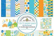 Scrapbook Paper 12x12