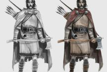 The art of The Banner Saga: ARNIE JORGENSEN / Concept art from Arnie Jorgensen for The Banner Saga videogame series