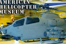 American Helicopter Museum / The American Helicopter Museum in West Chester is the nations premier helicopter museum with over 35 aircraft on display!