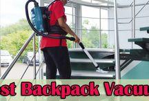 Best backpack vacuum cleaners