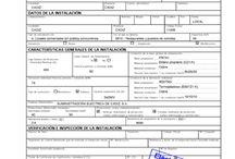 Boletín eléctrico | Eléctrica Isleña / Boletín eléctrico o certificado de instalación eléctrica, instalador electricista autorizado para certificar instalaciones eléctricas.