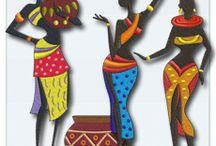 Afrikalı kızlar