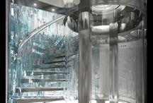 Elevator yacht