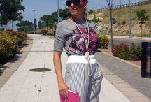 Flower Pinstripes / #PalazzoPants #StreetStyle #Fashion #SpringLooks #FashionBlogger #ZaraClothes http://gabbynnia.com