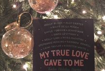My True Love Gave to Me #MTLGTM / Holiday projects and crafts!