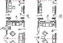 narrow sitting room ideas