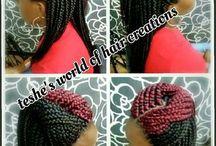 Hair braids..